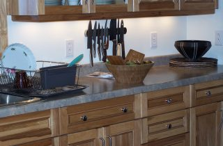 kitchen at Seacoast Lakeshore Resort