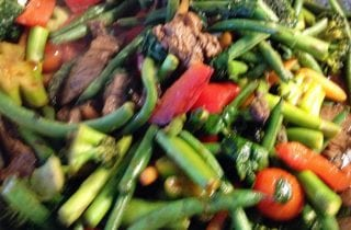 stir fry beef and vegetables