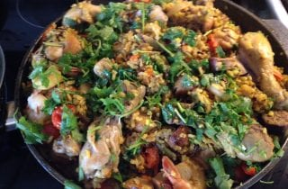 variation on spanish paella