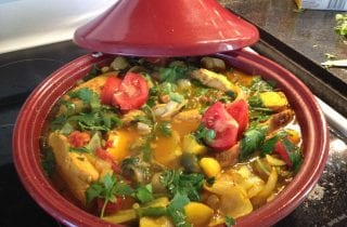 tandoori chicken tagine