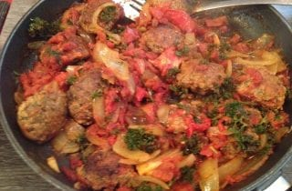 Lebanese lamb Patties