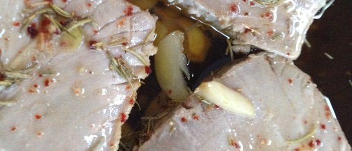 Olive Oil Poached Tuna