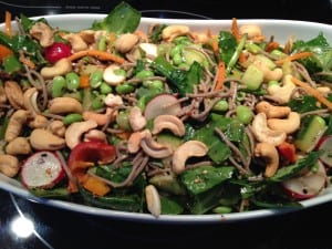 Healthy Grain and Legume Salads