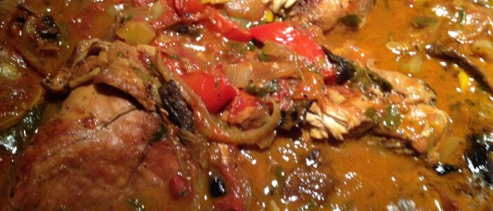 Chicken Cacciatore with Olives and Porcini