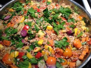 Golden Buckwheat Pilaf