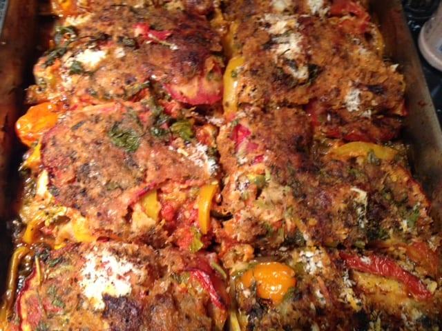 Simply Natural Gourmet Cookbook Vegetarian Lasagna ...
