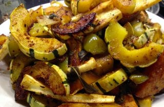 Curried Roasted Winter Vegetables