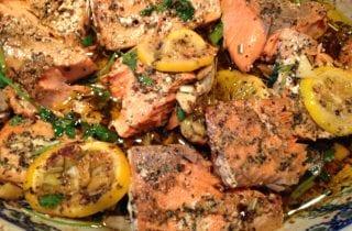 Olive Oil Slow Roasted Salmon