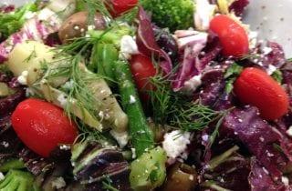 Detox Rebuild Summer Vegetable Salad