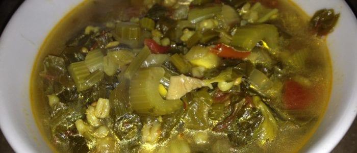 gnarly celery soup