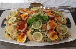 double coriander potato salad