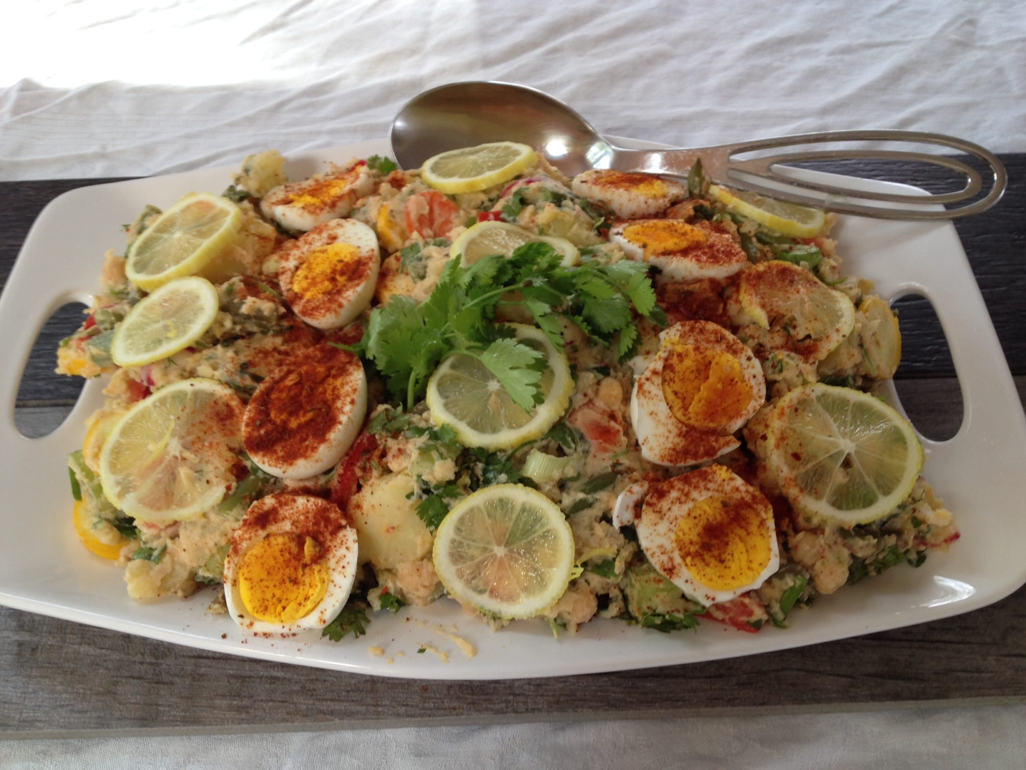 Double Coriander Potato Salad