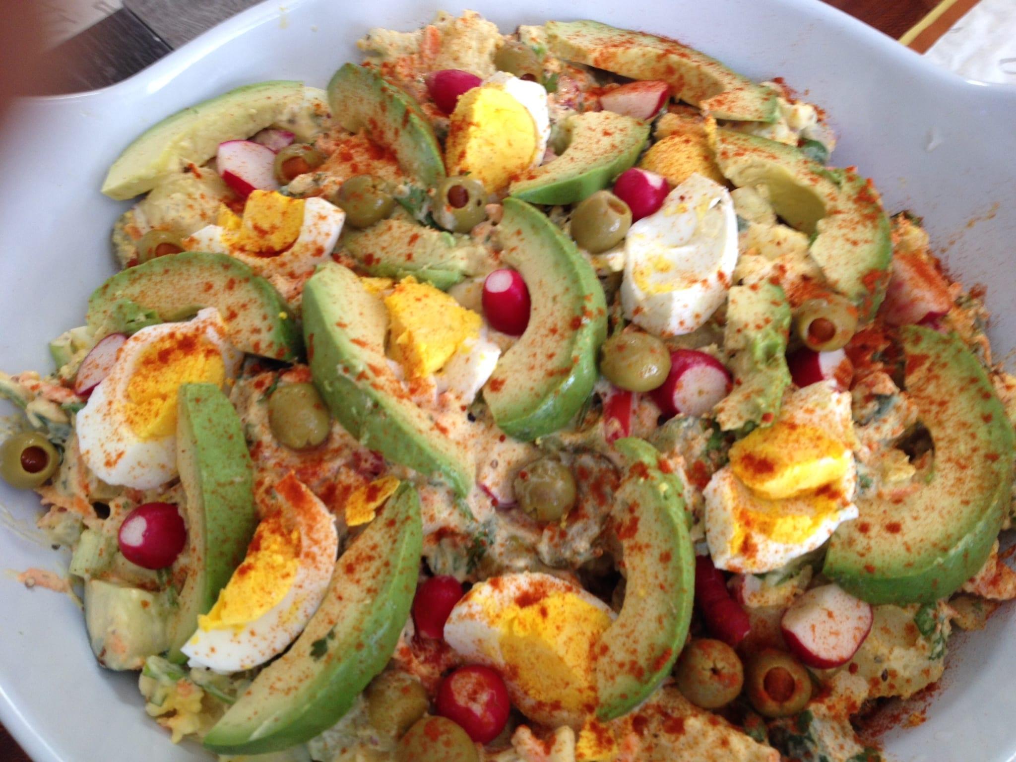 Summertime Golden Potato Salad