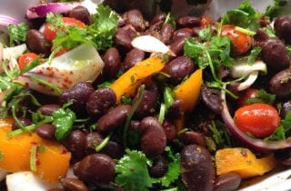 Ayocote Bean Salad