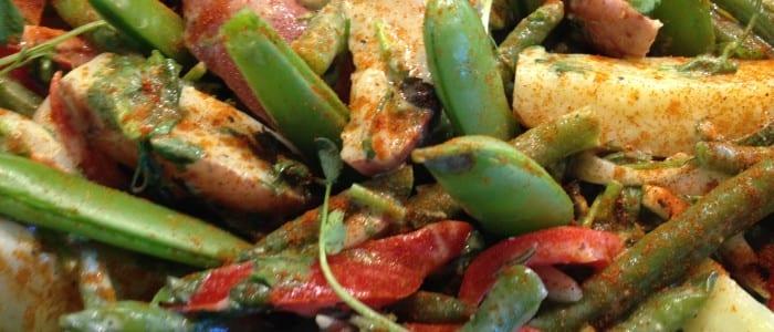 Dijon Potato Salad with Green Beans & Arugula 1