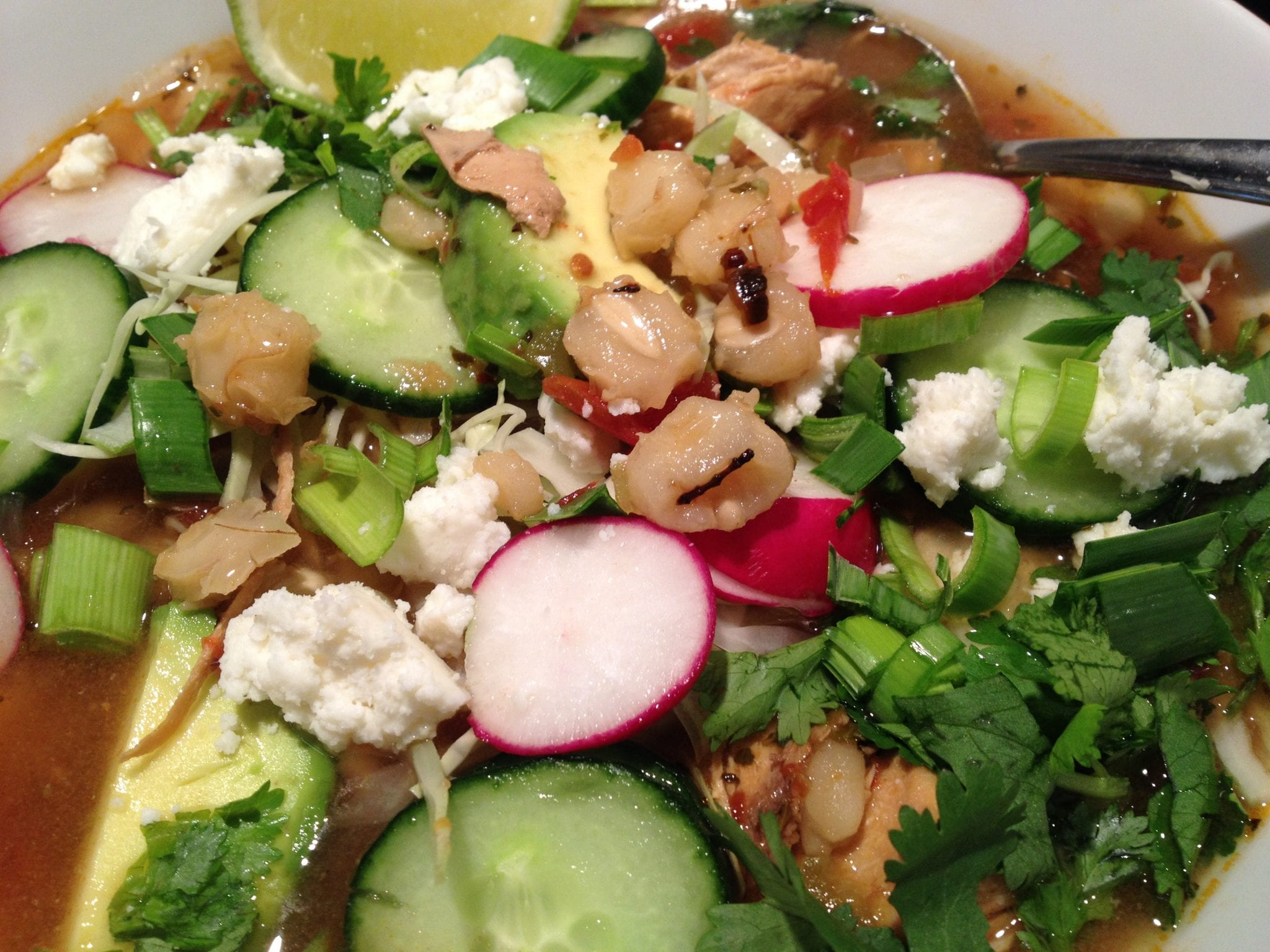 Spicy Chicken Posole