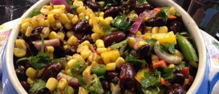 Healthy Grain and Legume Salads