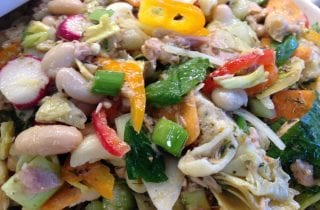 Tuna and White Bean Pasta Salad