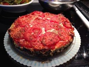 Tomato Leek Mushroom Tart