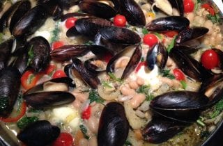 Cannellini, Clams and Mussels