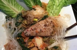 Tuna In Miso On Glass Noodles