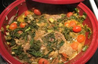 Lamb Tagine with Spinach Qorma
