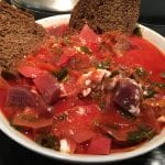 Borscht with Winter Vegetables