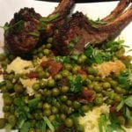 Green Pea Sabzi with Lamb and Basmati
