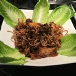 Soba with Roasted Medicinal Mushrooms