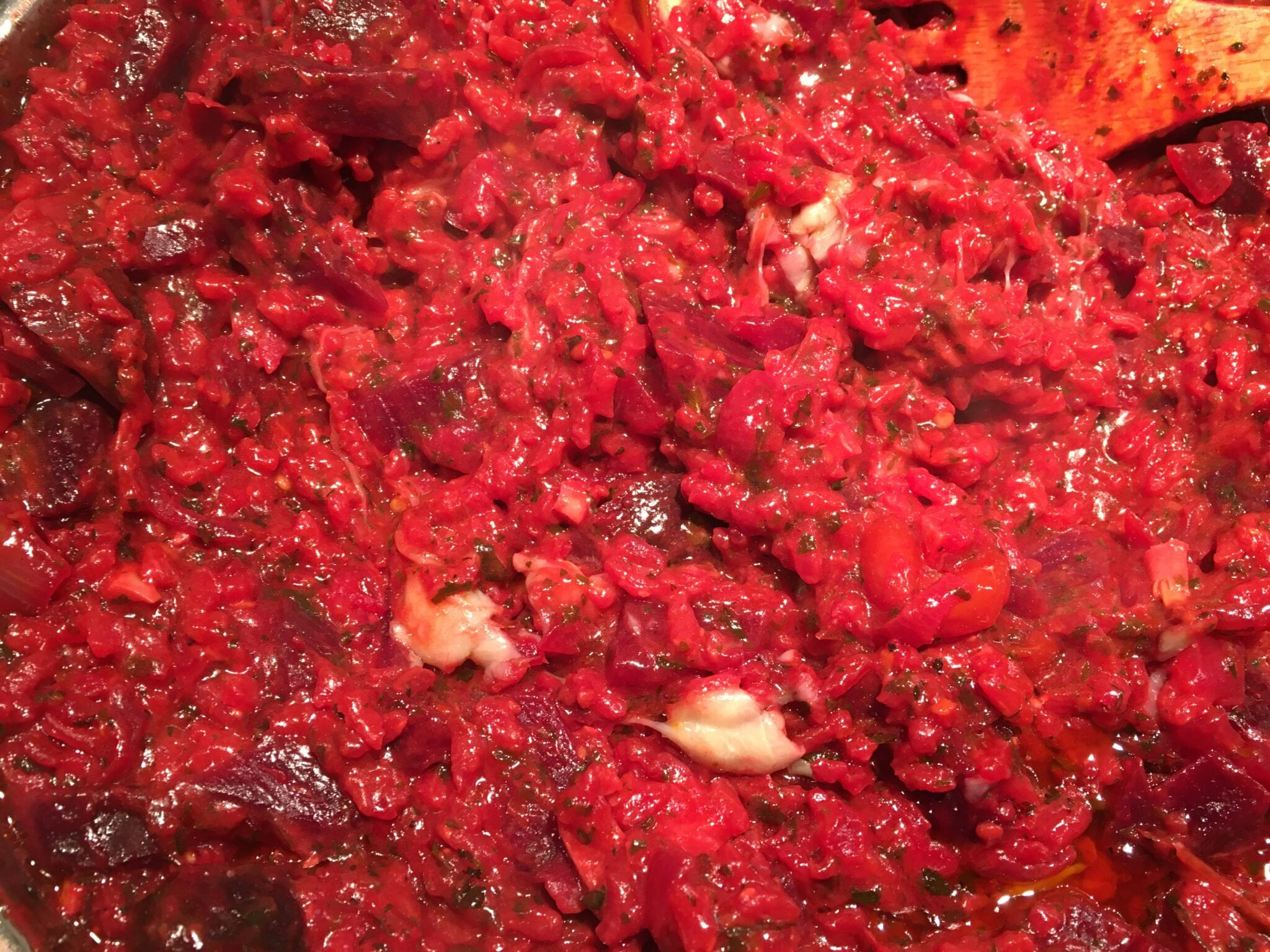 Ruby Red Risotto