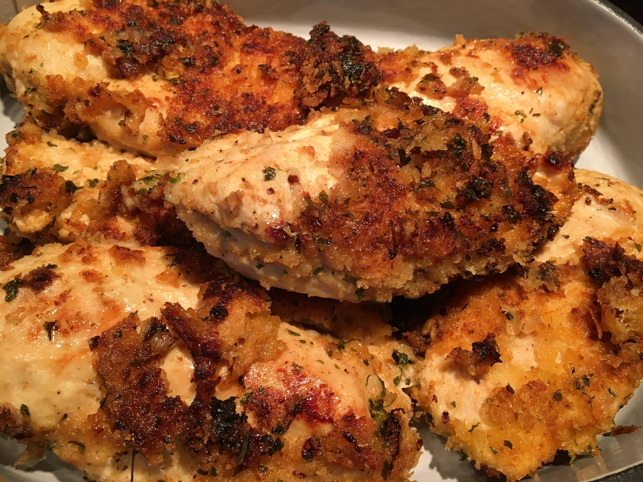 Tandoori Buttermilk Chicken Breasts