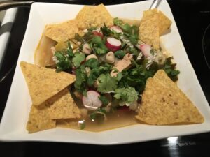 Chunky Vegetable Chicken Pozole